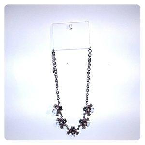 H&M Pink Floral Necklace