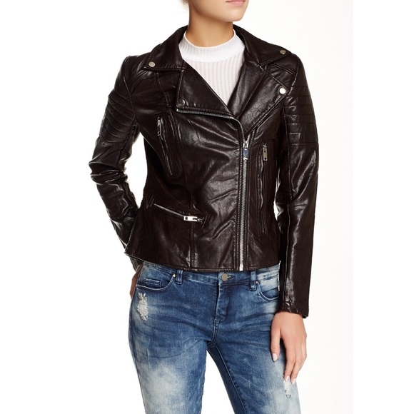 Blank NYC Jackets & Coats - NWT BlankNYC moto jacket vegan leather biker