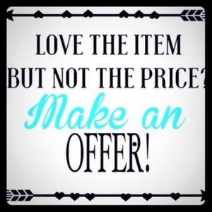 Make an offer! 😀