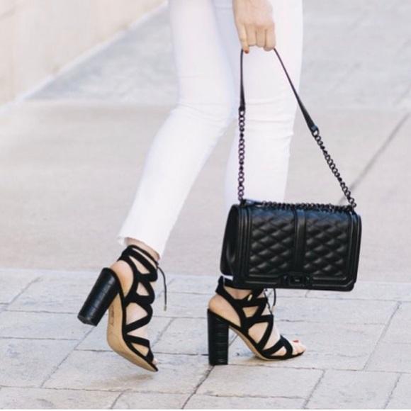 0ad2cf71bee0 Sam Edelman Yardley lace-up in black sandals. M 5970d8c74e8d179685030168