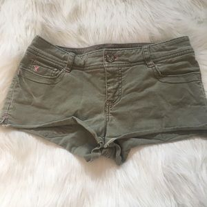 American Eagle Outfitters Shorts - ☀️BOGO☀️ American eagle olive shorts rhinestones!