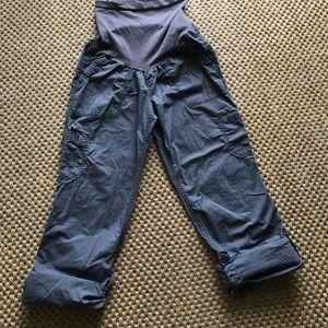 Motherhood Maternity Convertible Cargo Pants