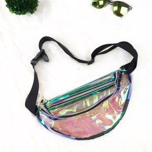 "Handbags - 💥NEW💥 ""Crystal"" See Through Fanny Pack"