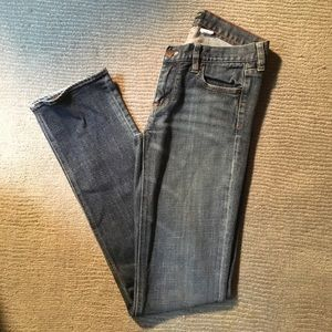 Size 27 Long, J. Crew jeans, great condition!