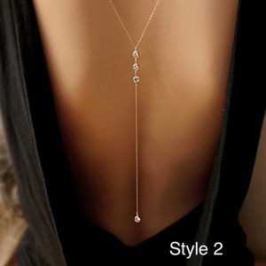 Other - Summer Boho Sexy Back or Beach Bikini Body Chain