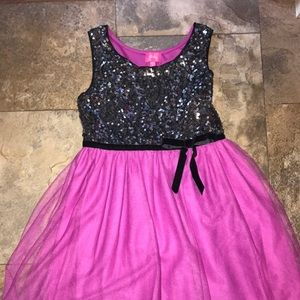 Other - Girls sequined dress EUC size 10