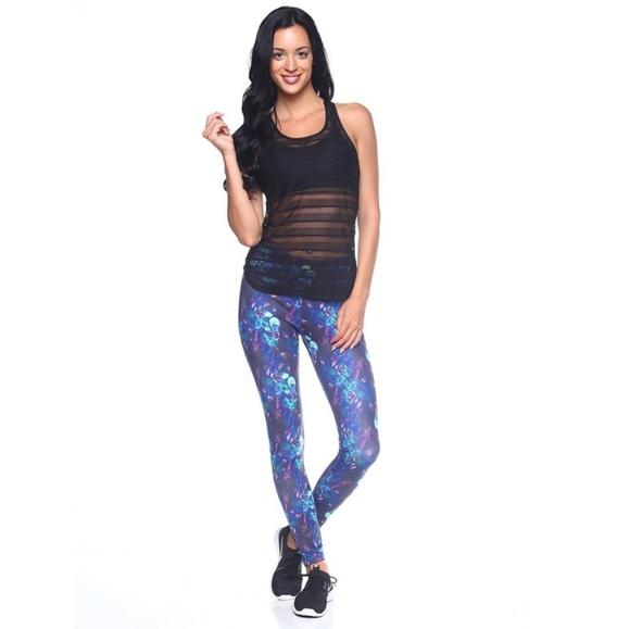 TheFreeYoga Pants - TheFreeYoga Print Airbrushed Leggings