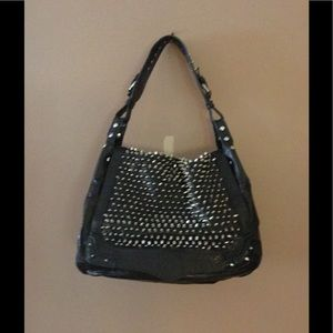 Authentic Navy Rebecca Minkoff Spike Bag!