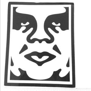 Large Obey Giant Sticker