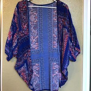Kimono coverup