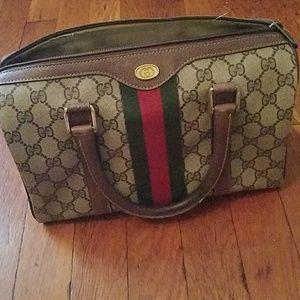 Vintage small GUCCI boston bag