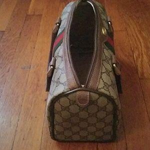 Gucci Bags - Vintage small GUCCI boston bag