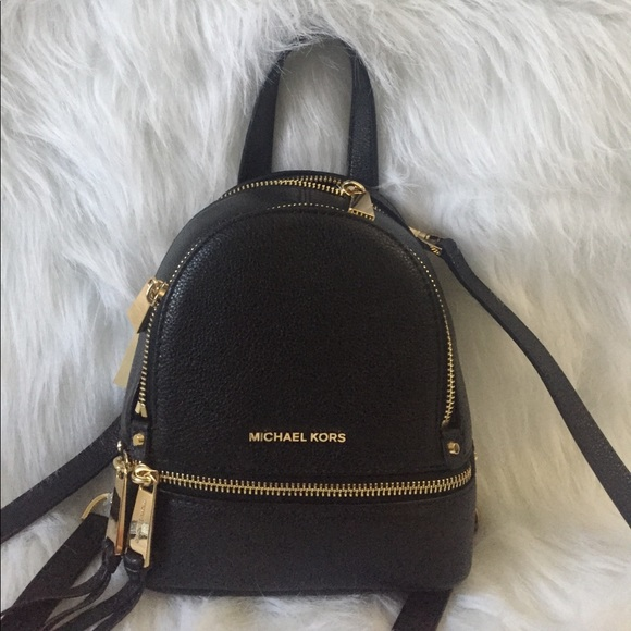 8bc1b1599879 Michael Kors Bags | Today Only Nwt Xs Rhea Zip Backpack | Poshmark