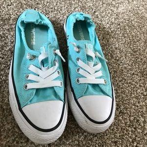 Tiffany blue Chuck Taylor's
