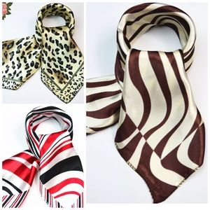 Accessories - ✨Silk Look Satin Scarf - Various Colors