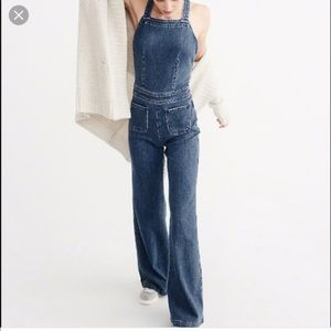 36c31df87516 Abercrombie   Fitch Jeans - A F Denim Flare Jumpsuit