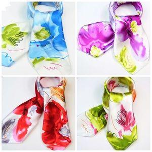 Accessories - Silk Look Satin Scarf, 20 x 20