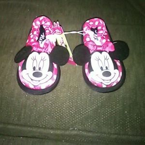 Mini mouse slippers