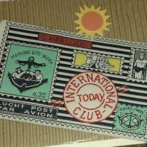 Vintage Sea & Navy Patch