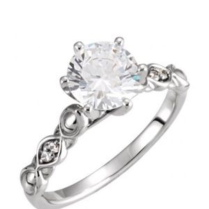 C&C Moissanite ring., used for sale