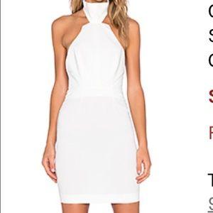 AQ/AQ white mini dress