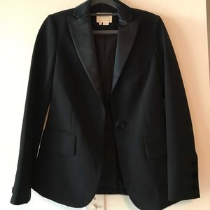 Kate Spade Bow Blazer in blk NWOT