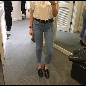 Re/Done Skinny Straight Jeans