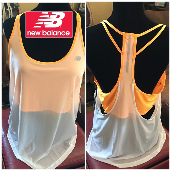 8d30f949041ca NEW NWT NEW BALANCE work out crop sheer tank