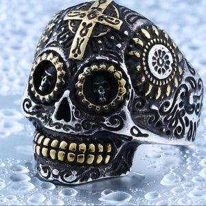 Other - Skull Biker Ring for Men/Ladies-Quality Stainless