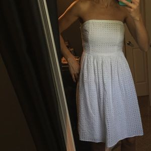 Dresses & Skirts - Eyelet lace dress!!!