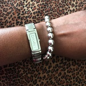 Authentic Tiffany & Co.  10mm bead bracelet
