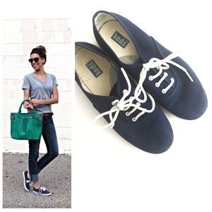 Keds Navy Blue Sneakers