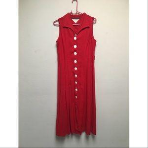 Dresses & Skirts - Vintage red dress.