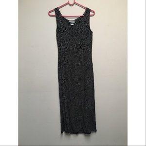 Dresses & Skirts - Vintage black and white polka dot dress.