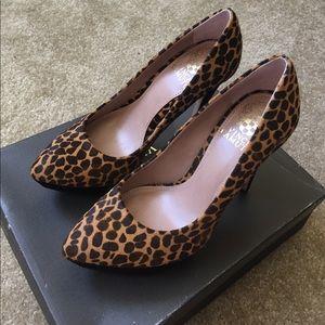 Vince Camuto Cheetah Ritz Heels