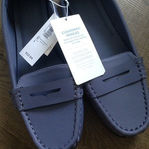 New Women/'s Old Navy Navy Blue Driving Loafers Size 7