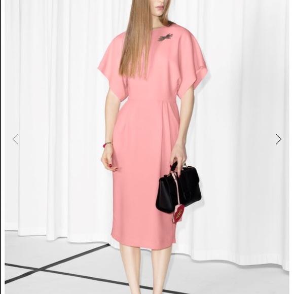 Pink Open Back Dresses