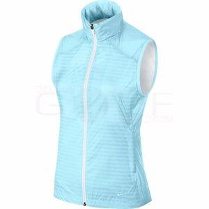 NEW Nike Golf Dri-Fit Ultra Light Vest Light Blue