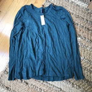 Anthropologie Left Of Center Slub Tee Sz. S