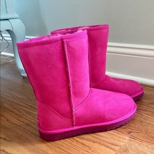 UGG Hot Pink Boots