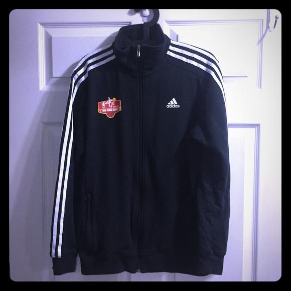 Categoría compartir Mariscos  adidas Jackets & Coats | Adidas Nba China Games Zip Up Track Jacket |  Poshmark