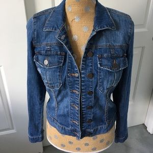 Kut from the Kloth jean jacket!