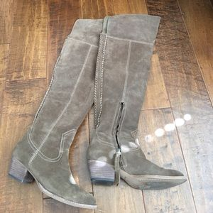 Dolce vita over the knee boots