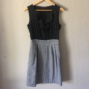 The Limited houndstooth dress