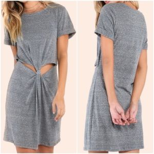 Knotted Peekaboo Dress. Price firm.