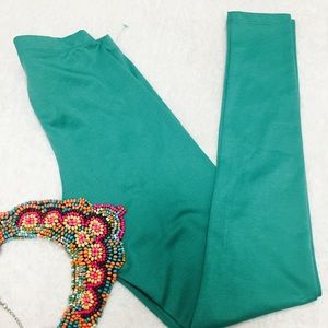Pants - Beautiful teal leggings