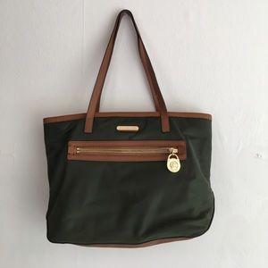 Michael Kors Green Nylon Handbag