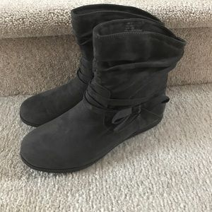 Rampage Grey Bootie