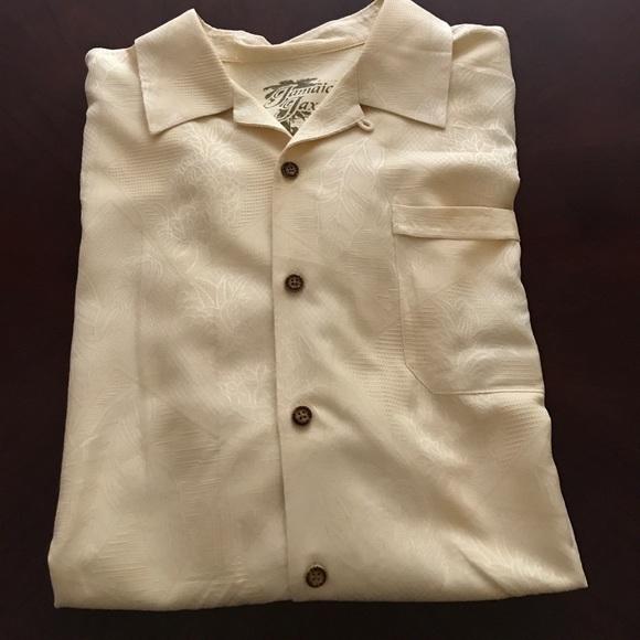 eb26cf36c Jamaica Jaxx Shirts | Neutral Hawaii Silk Shirt | Poshmark