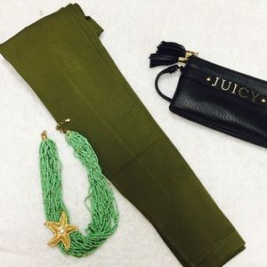 Pants - Olive green color leggings